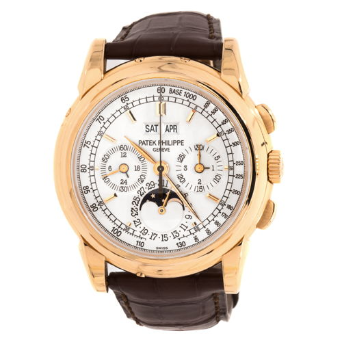 Chronograph Calendar Perpetual Sale Men Gold 2018 930 Grand Philippe Rose Complications Patek Chronoexpert £95 For